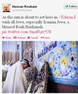 iran president on twitter