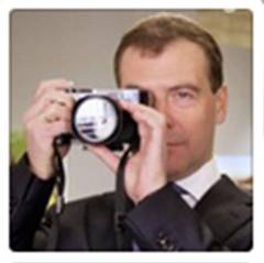 Prime Minister of Russia Demitry Medvedev on Instagram